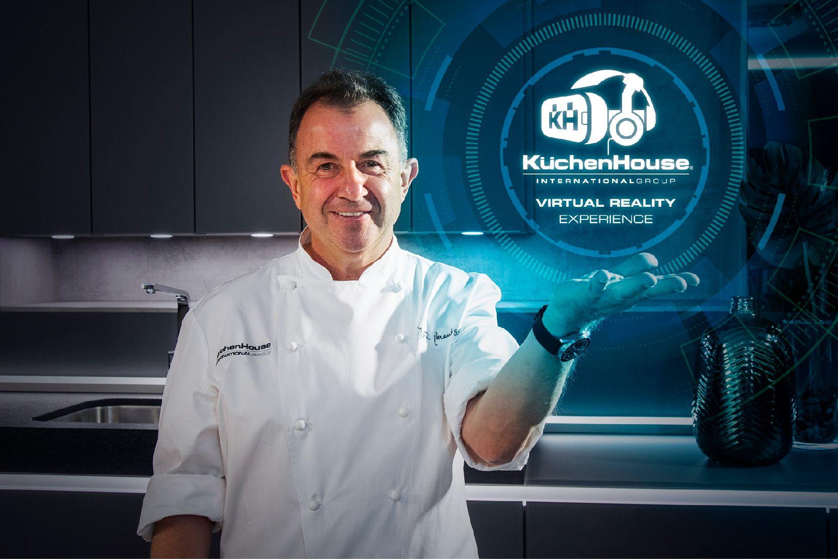 El chef Martín Berasategui