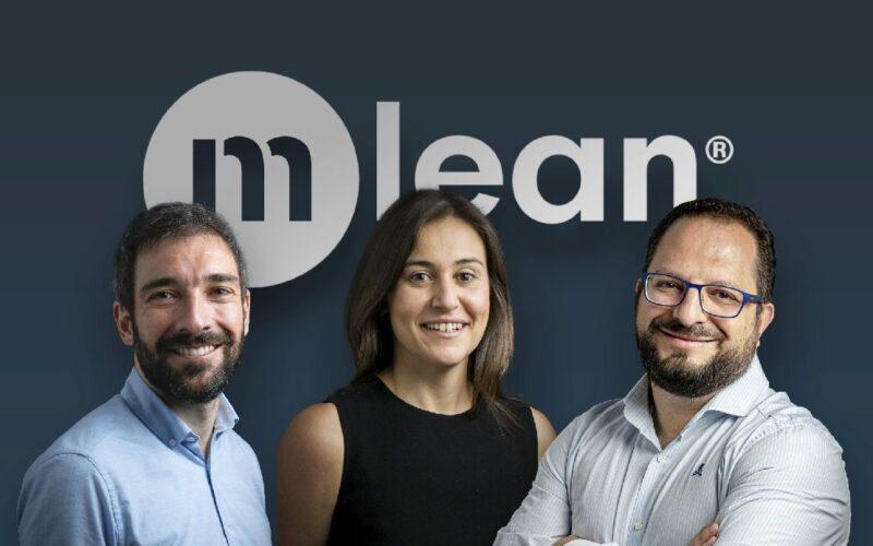 Antonio Alonso, Angélica Lozano y Roberto Delgado, cofundadores de MLean.