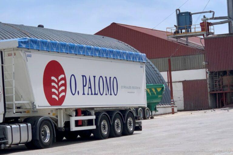 Camión de Octaviano Palomo.