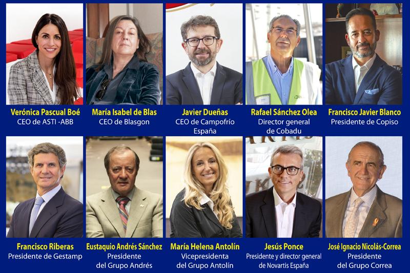 Empresarios y directivos de Castilla y León.