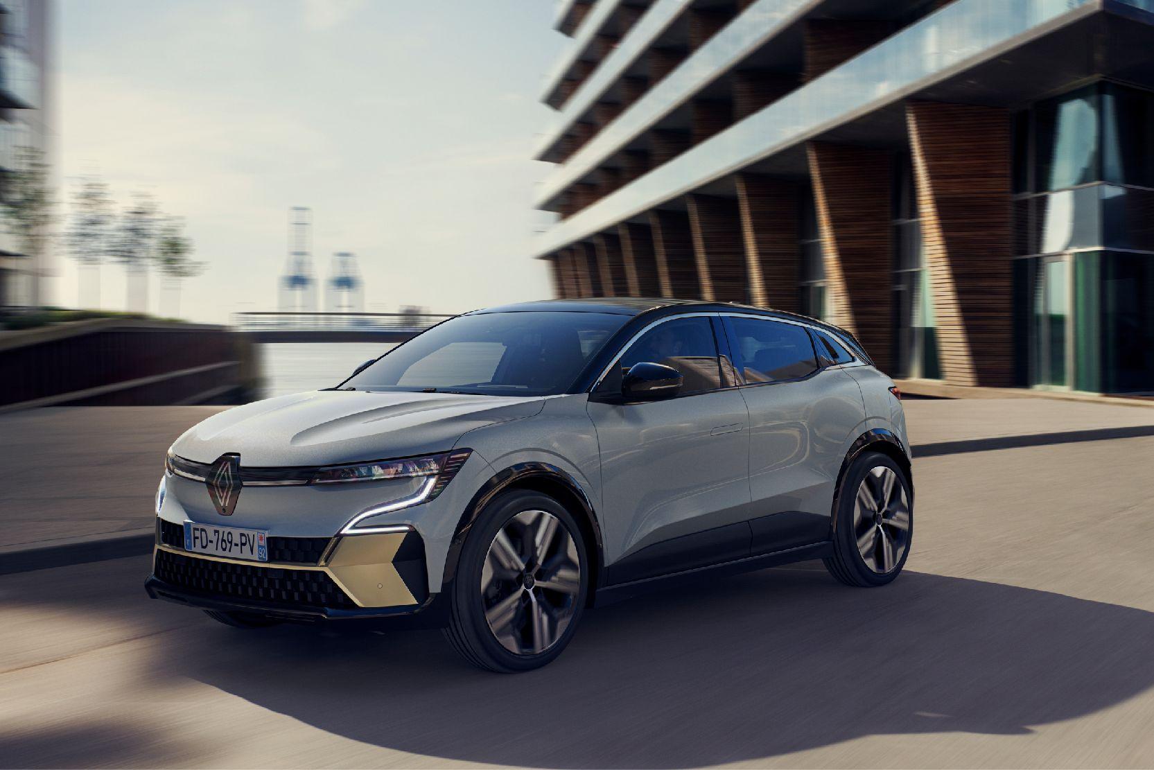 Renault Mégane E-Tech eléctrico.