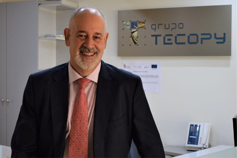 Roberto García, consejero delegado del Grupo Tecopy.