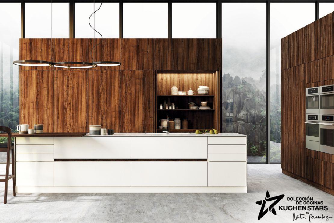 'KüchenStars' es una colección de cocinas diseñadas por el prestigioso cocinero Martín Berasategui.
