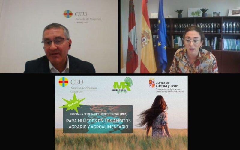 Manuel Perucho y María González Corral