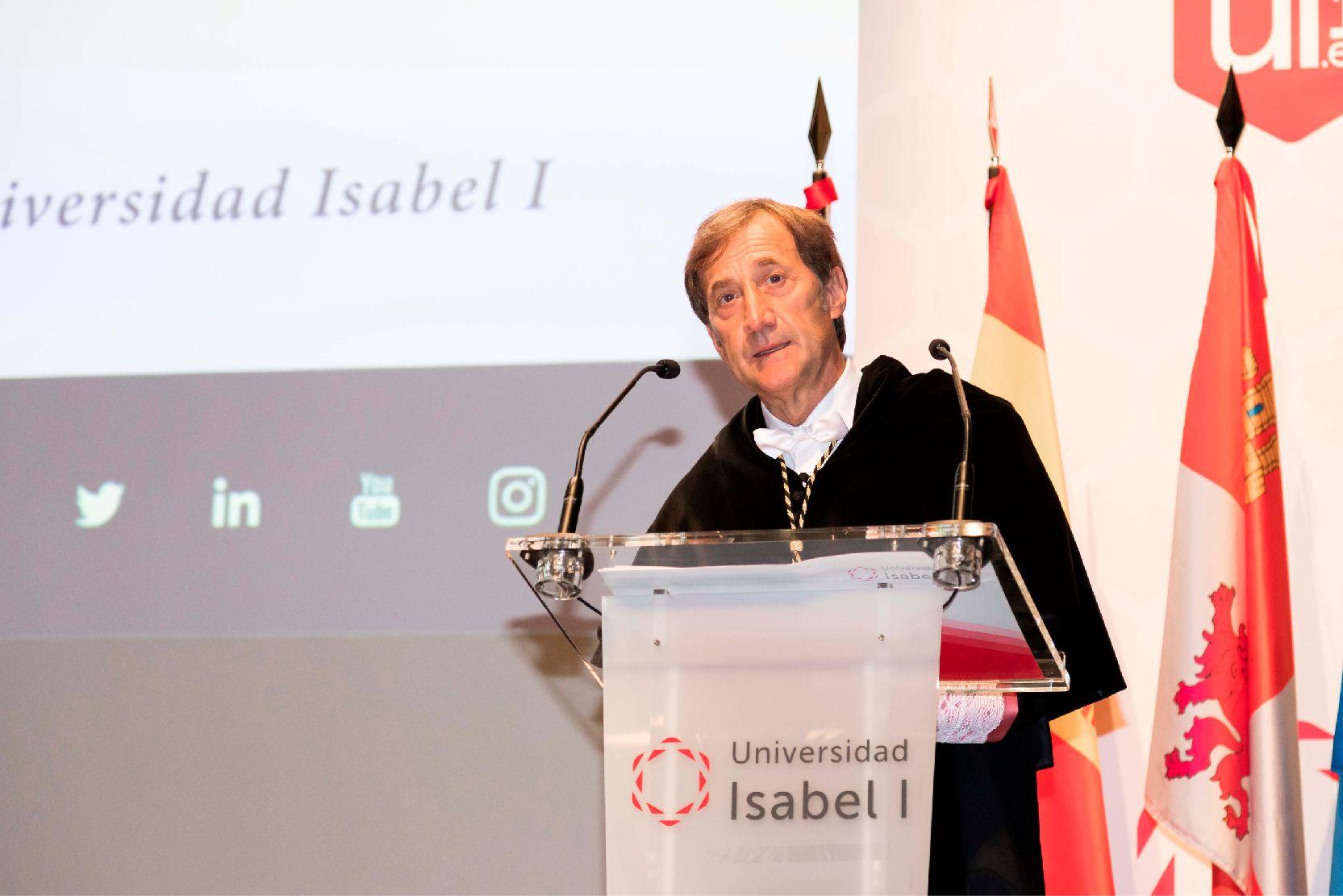 Rector de la Universidad Isabel I