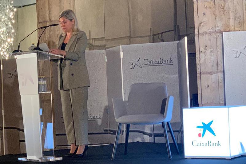 Belén Martín, directora territorial Castilla y León de Caixabank