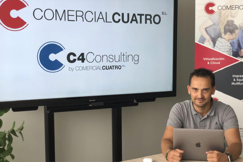 Samuel Antón, gerente de Comercial Cuatro