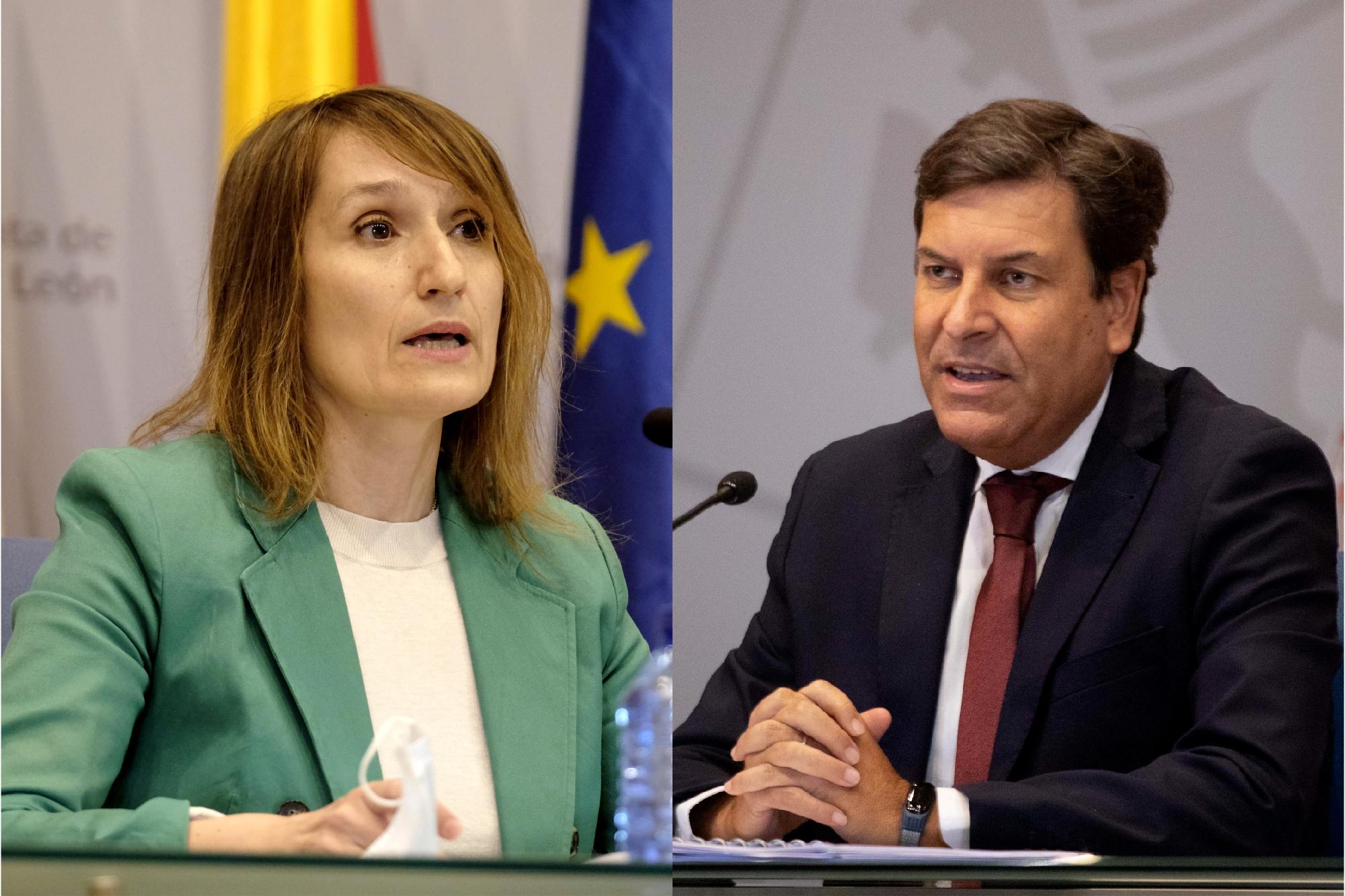 Rocío Lucas y Carlos Fernández Carriedo