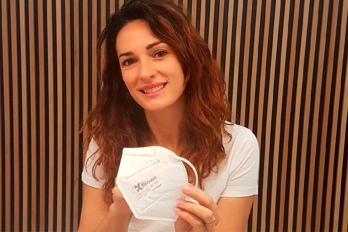 Sara Rafael Guzón, responsable de MaskPalencia.