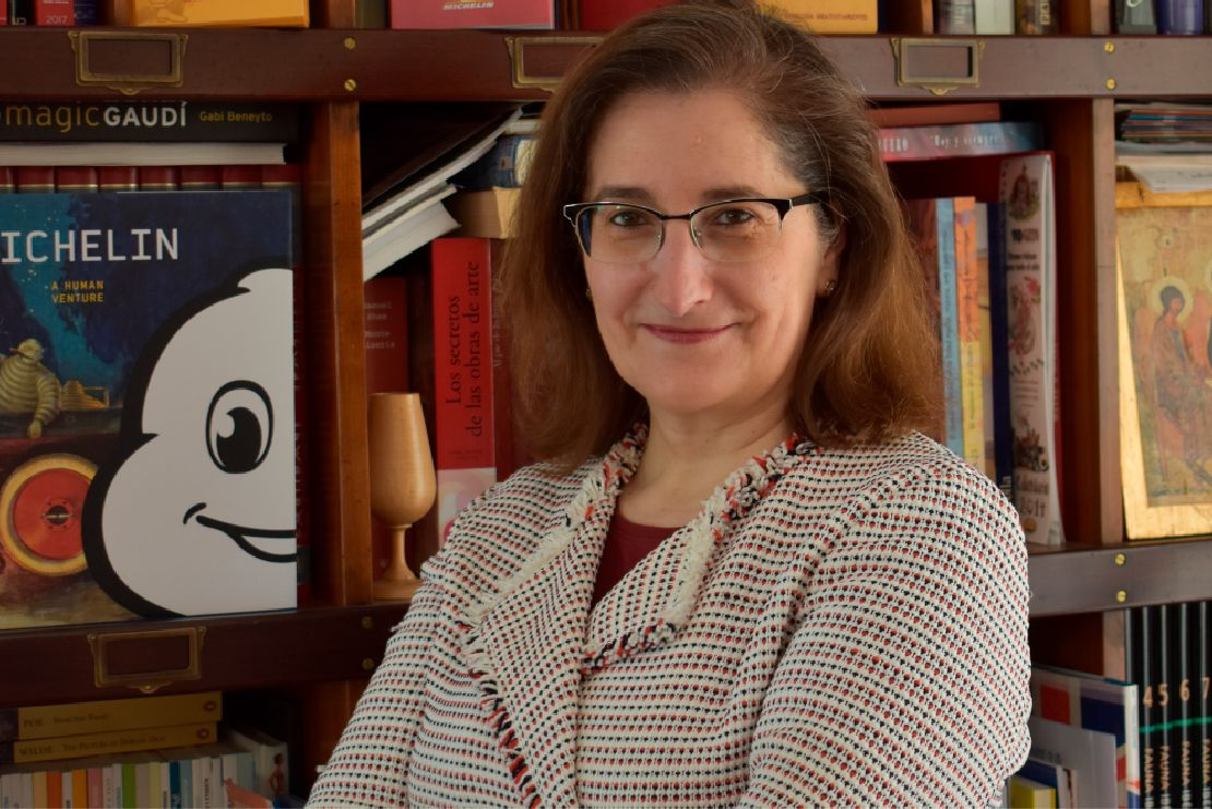 María Paz Robina, presidenta de Michelin España Portugal.