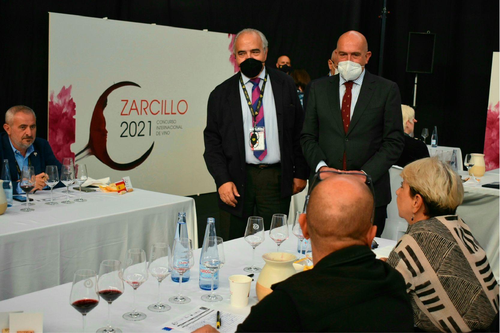 Jesús Julio Carnero en los Premios Zarcillo