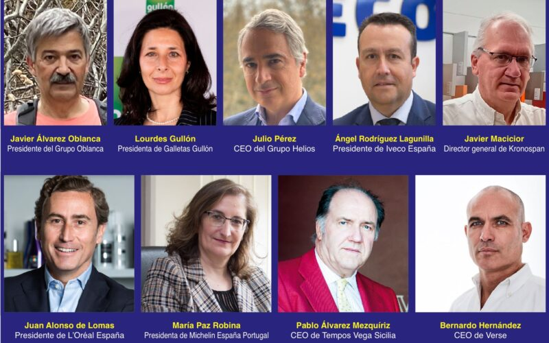 9 empresarios y ejecutivos de Castilla y León de cuyas decisiones dependen multimillonarias inversiones, miles de empleos y el desarrollo económico de la región.