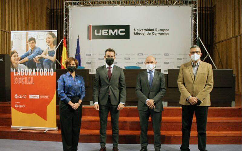 Presentación del Laboratorio Social de la UEMC