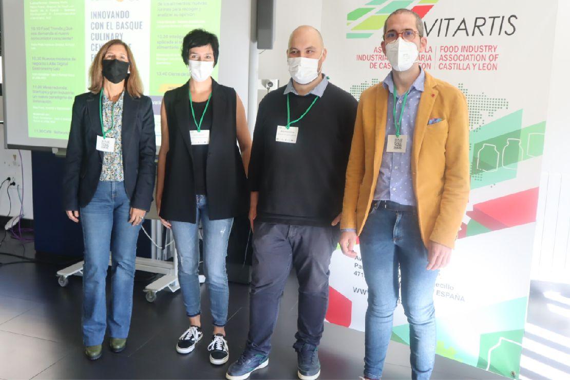 Participantes en la jornada de Vitartis.